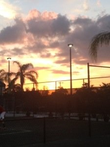 Cape Coral Racquet Club Sunset